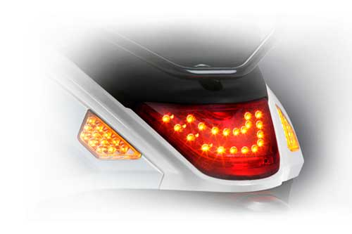 Luxury high-efficiency LED signal light and tail light super high power saving brightness, colour and dazzling.